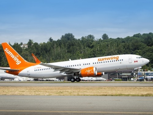 Sunwing's MAX 8 planes to stay grounded this winter