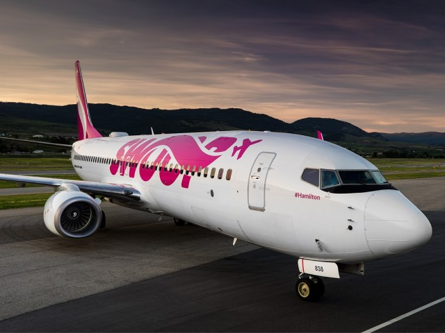 Swoop cancels 7 flights after damage grounds plane