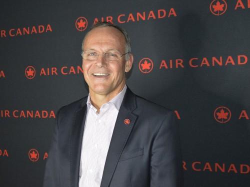 Air Canada's John MacLeod departs company