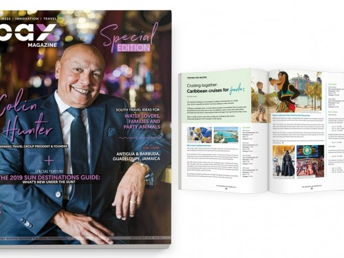 Sunwing's Colin Hunter shines in PAX magazine's September 2019 edition