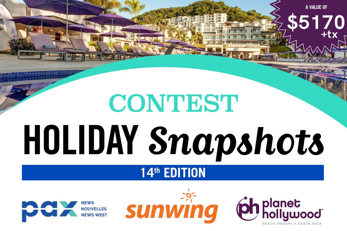 The PAX - Sunwing Snapshot Contest is back!