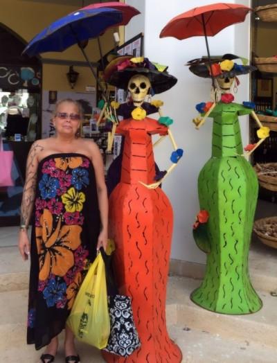 Shopping in the Mayan