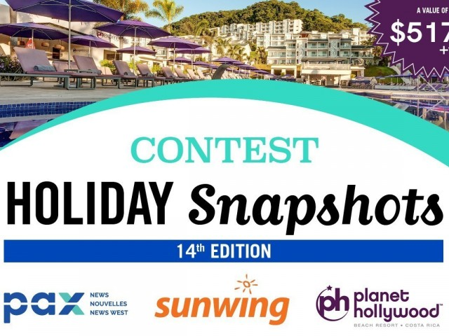 Win a Costa Rica escape with the 2019 Holiday Snapshots contest!