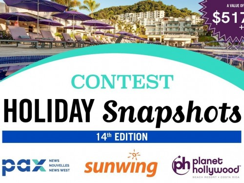 Submit your Holiday Snapshots to win a Costa Rica escape!