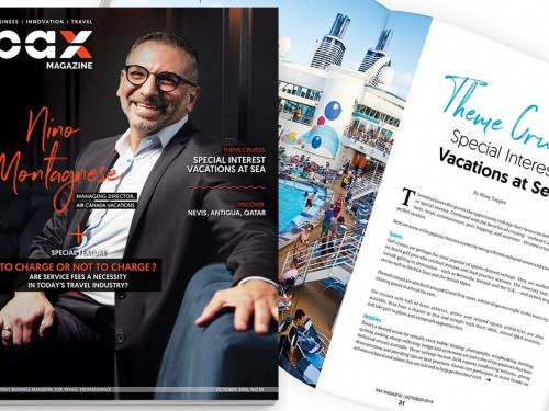 ACV's Nino Montagnese featured in October's PAX magazine