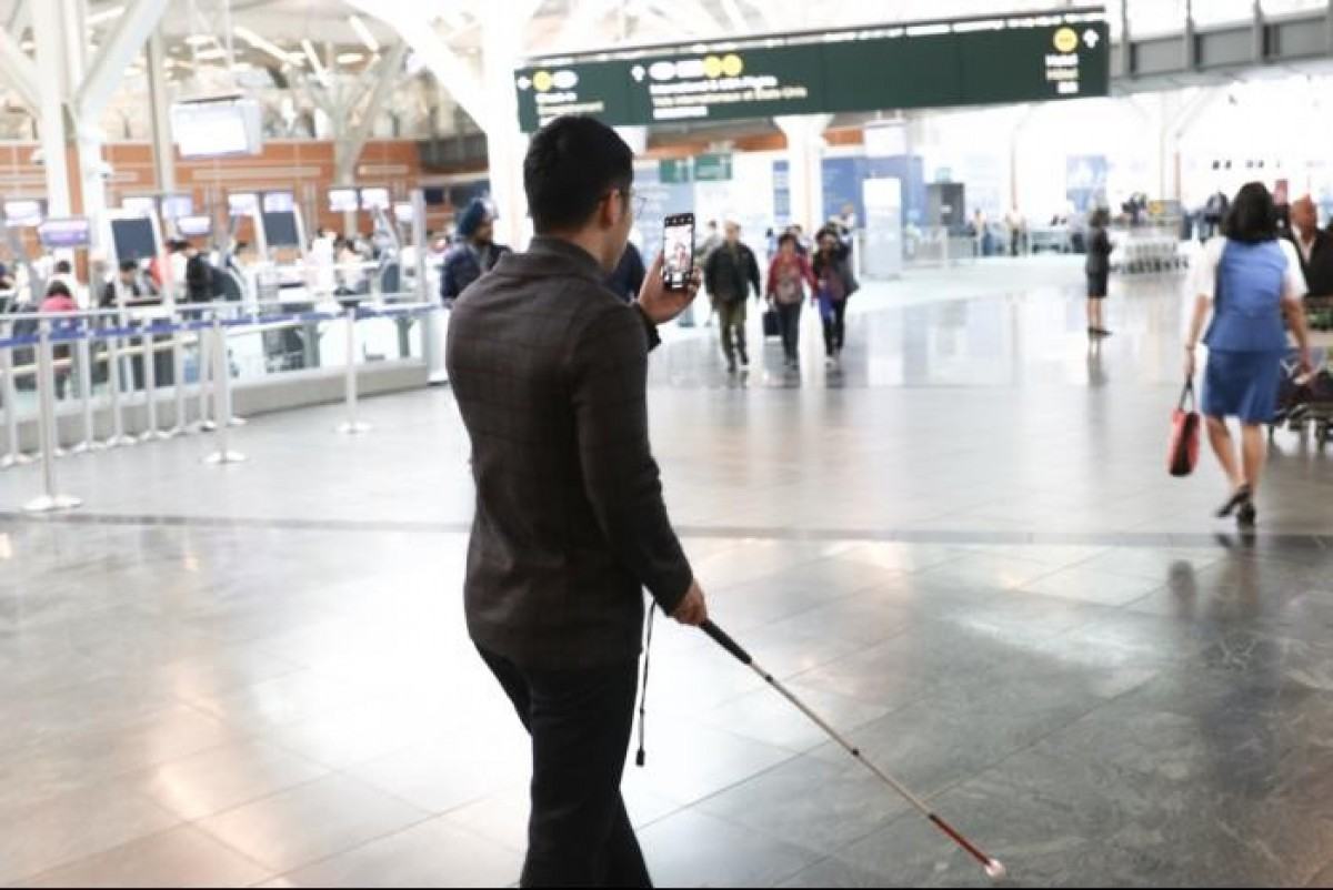 New service at YVR to assist visually-impaired travellers