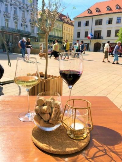Wine in Bratislava