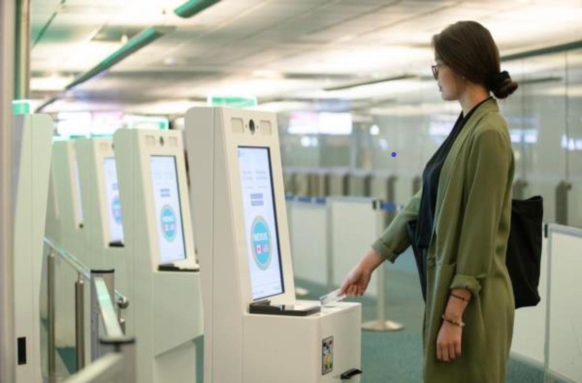 YVR's BorderXpress kiosks now use facial recognition technology