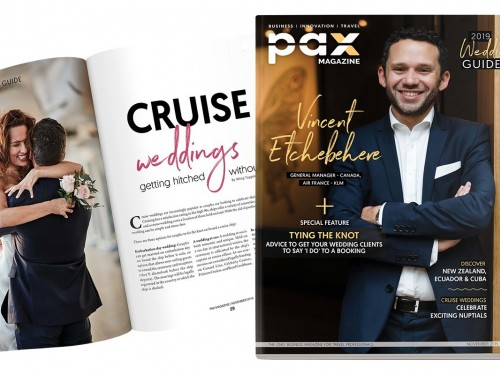 Air France's Vincent Etchebehere featured in PAX magazine's November edition