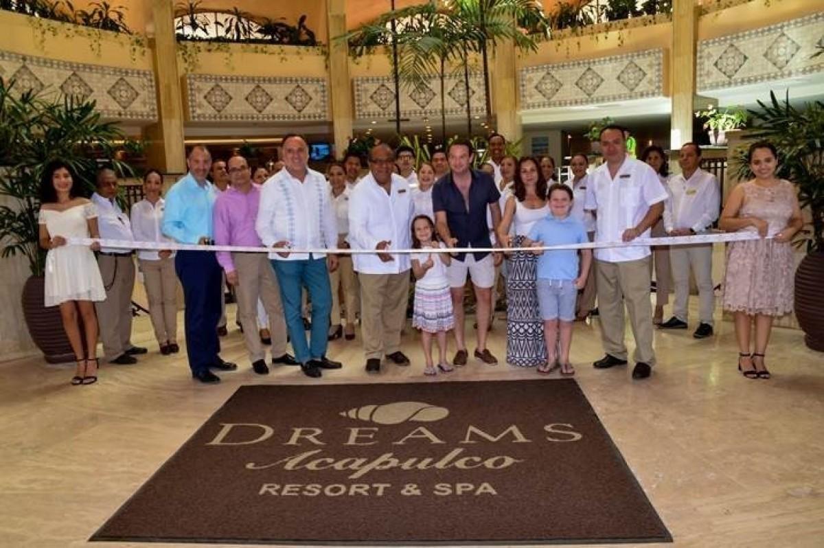 Dreams Acapulco Resort & Spa now open