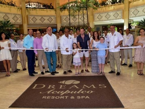 Dreams Acapulco Resort & Spa now open