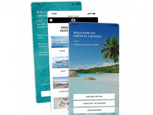 Crystal Cruises launches new app