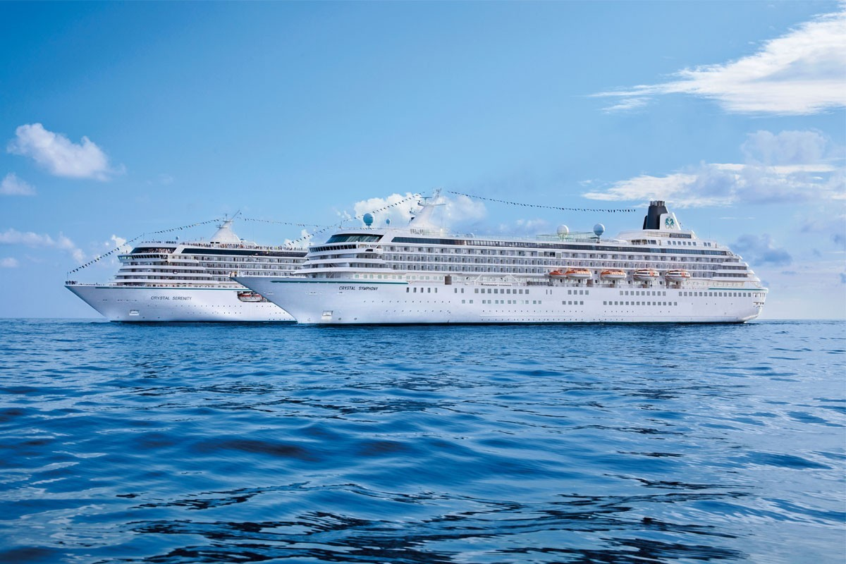 Crystal adds 10 new voyages to Getaways collection