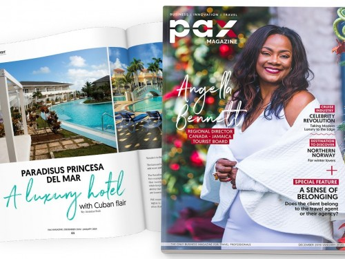 The JTB's Angella Bennett is PAX magazine's latest cover star!