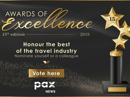 Help pick the travel industry's best in the 2019 Awards of Excellence!