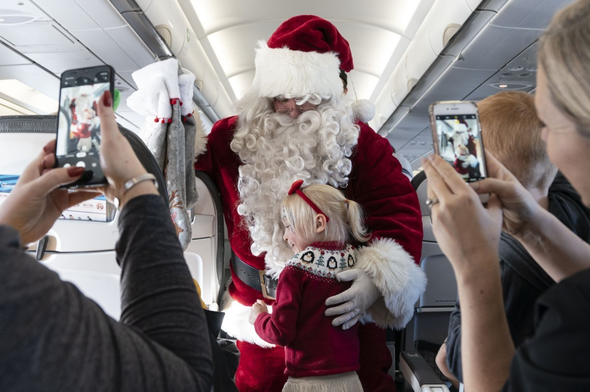 Transat's 15th annual Flight with Santa Claus marked with $100K donation