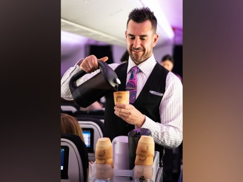 Air New Zealand has a new take on coffee and a biscuit