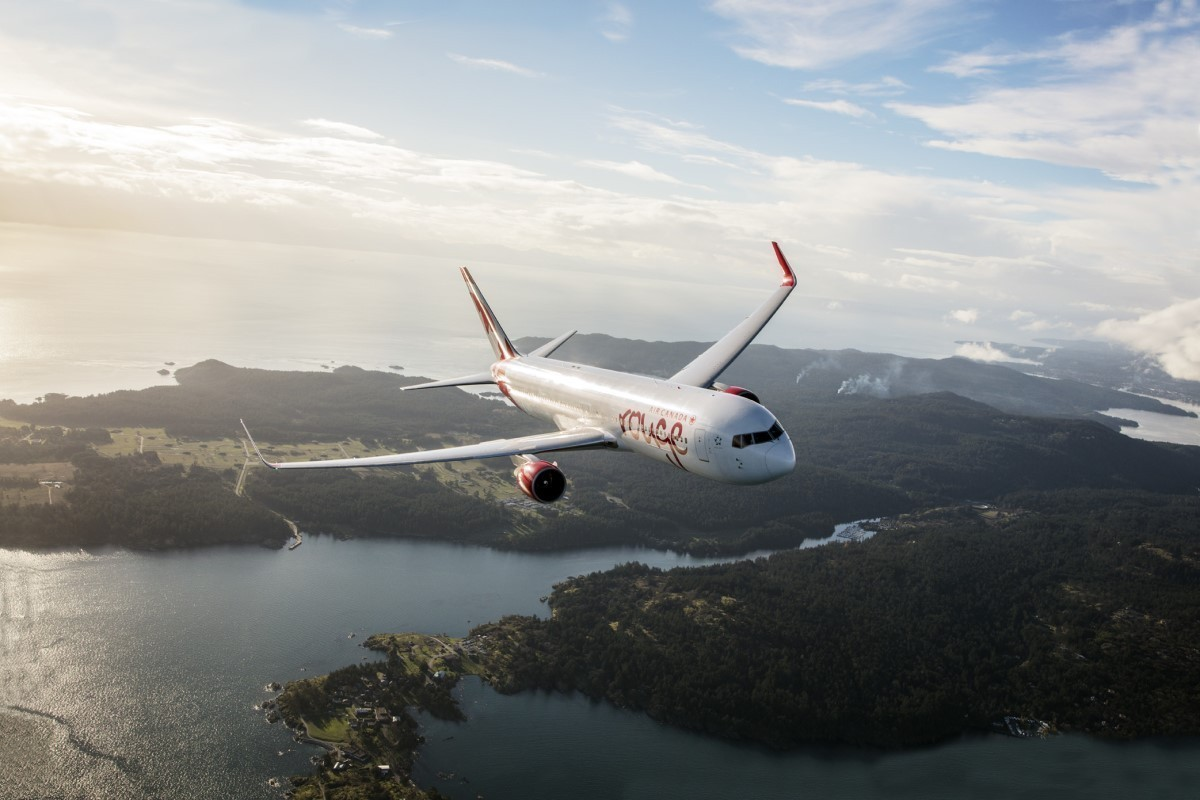 Wi-Fi now available on all Air Canada Rouge flights