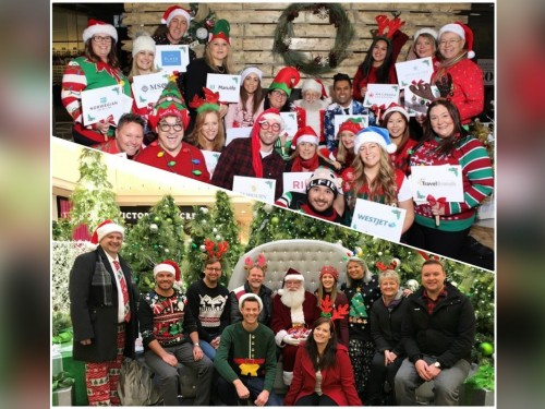 Carolling for a cause: Western Canada BDMs start the holidays on a high note