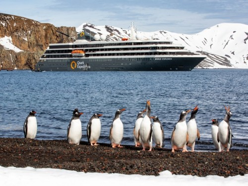 How Quark Expeditions makes selling an Arctic or Antarctic vacation easy