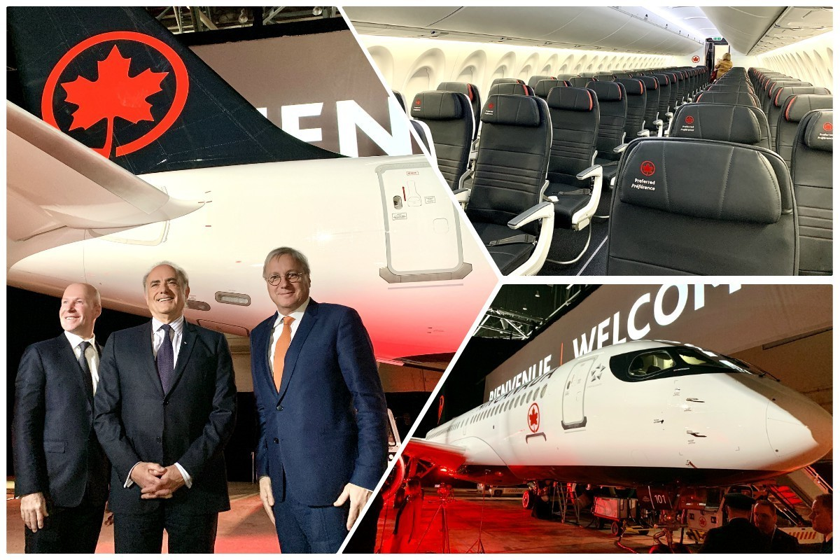 """""""The beginning of a new chapter:"""" Air Canada welcomes its new A220-300"""