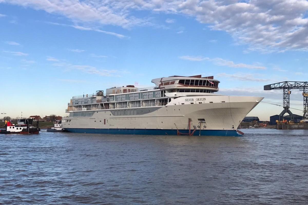 Silversea's Galapagos ship gets ready to sail July 2020