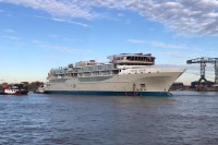 Silversea's Galapagos ship gets ready to sail July 2020