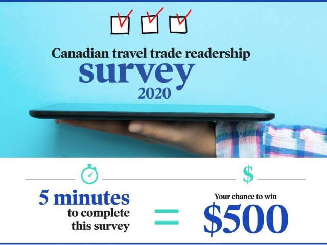You could win $500 just by taking our new readership survey!