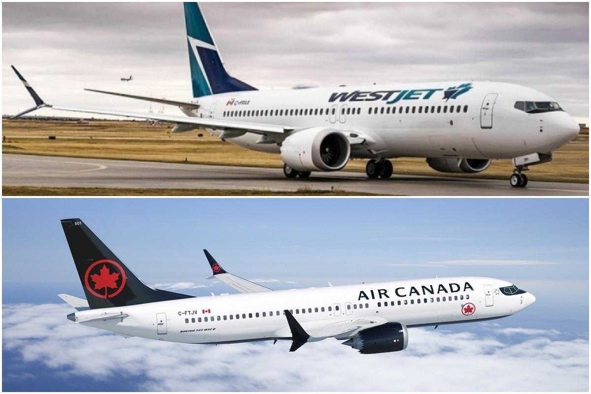 737 MAX: WestJet & Air Canada revise schedules through June