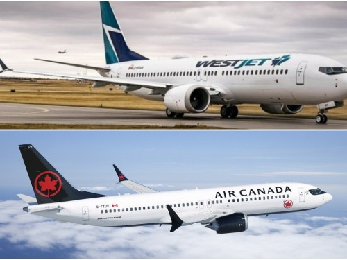 737 MAX: WestJet & Air Canada revise schedules through June