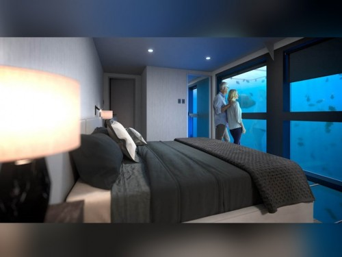 Your clients can spend the night underwater at the Great Barrier Reef with Goway