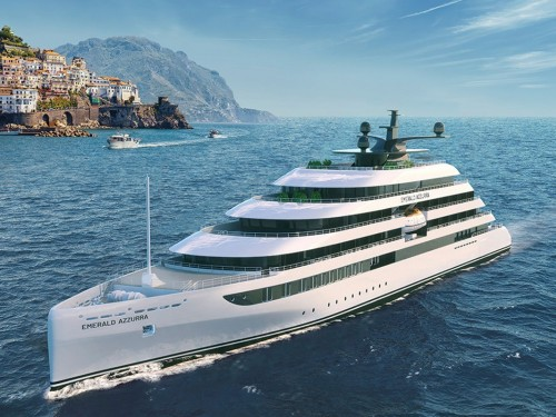 Yacht club: Emerald Azzura to sail in 2021