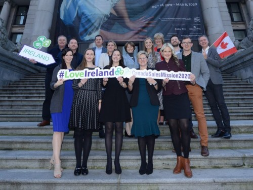 Tourism Ireland heads to Western Canada this week