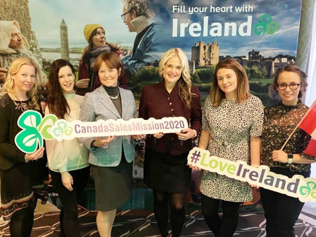 Tourism Ireland promotes its unique experiences and extended travel season
