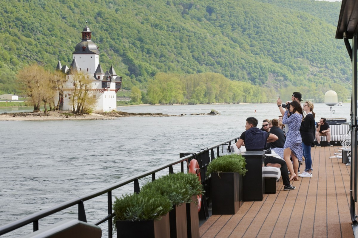 U River Cruises' to go Rolling on the Rhine