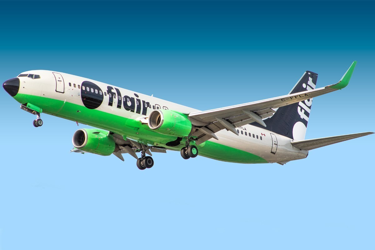 Flair cuts Abbotsford summer service, eyes Atlantic Canada routes