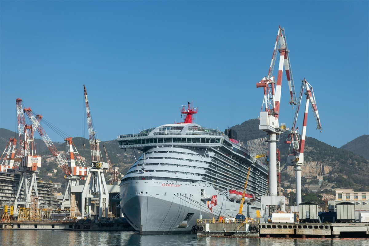 Virgin Voyages' Scarlet Lady is ready for her close-up