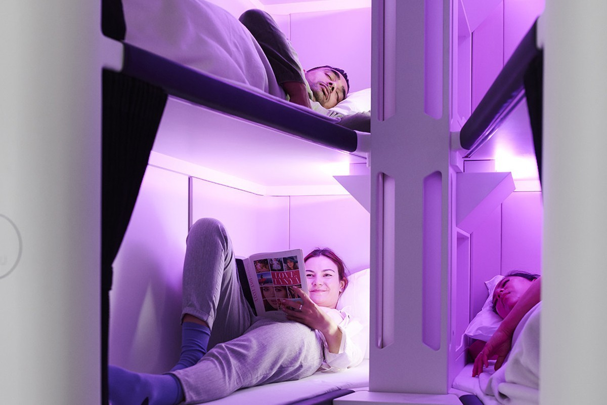 Air New Zealand tests out Economy SkyNest