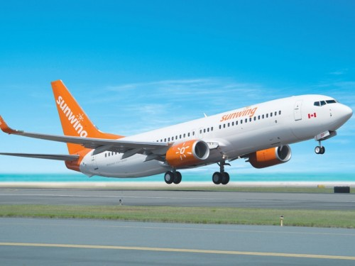 Sunwing removes MAX 8 from schedule through Oct. 31