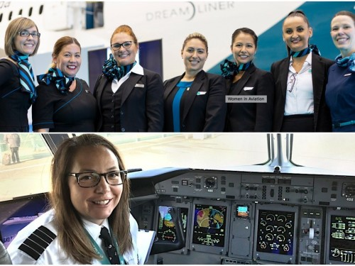 VIDEO: WestJet puts out the call for more women in aviation