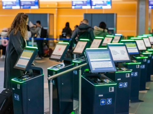 YVR upgrades self-serve kiosks