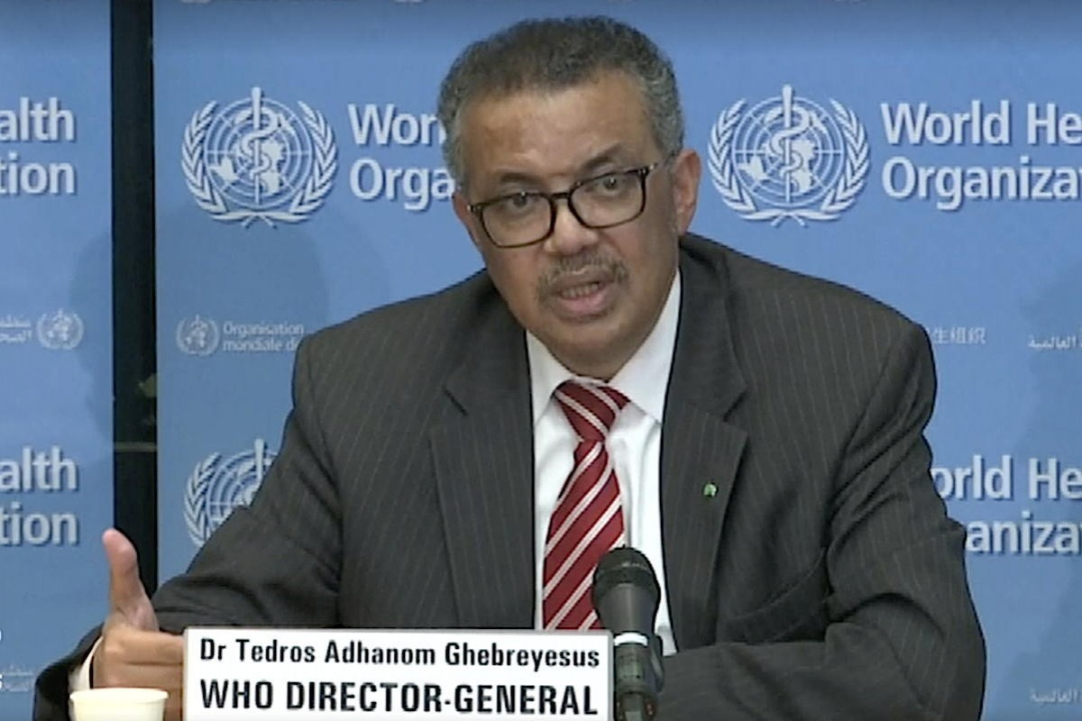 """""""All countries can still change the course"""": WHO declares COVID-19 a pandemic"""