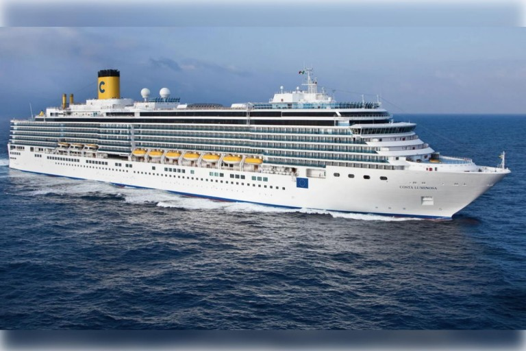 Costa Luminosa with coronavirus cases, and 77 Canadians on board, docks in France