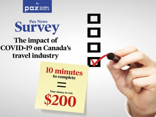 The impact of COVID-19 on Canada's travel industry: survey