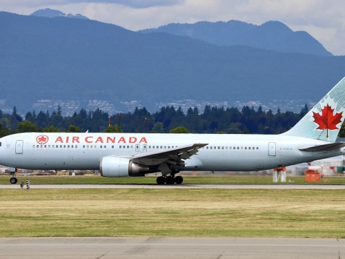 Air Canada bids farewell to the Boeing 767