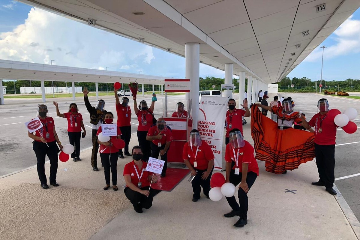 ACV flies first guests to Cancun since start of COVID-19
