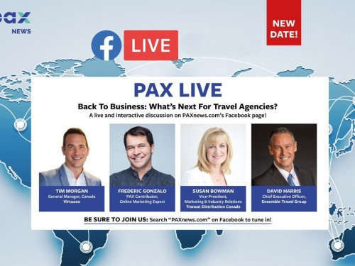 What's next for travel agencies? FB Live: Today (June 16th) at 11 a.m. PST