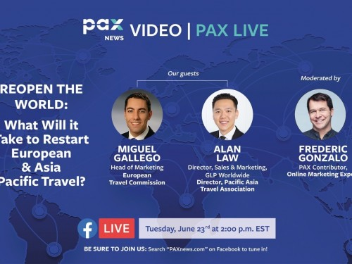 What will it take to restart European & Asia Pacific travel? FB Live: Today at 11 a.m. (PST)