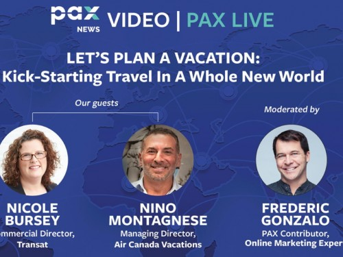 Let's plan a vacation: kick-starting travel in a whole new world. FB live today: (June 30, 11 a.m., Pacific)